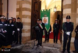 """150 UNITÀ D'ITALIA, """"INTENSO DISCORSO DEL SINDACO CARRUBBA"""""""