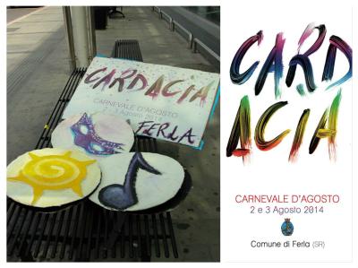 "AL VIA ""CARDACIA"", CARNEVALE D'AGOSTO."
