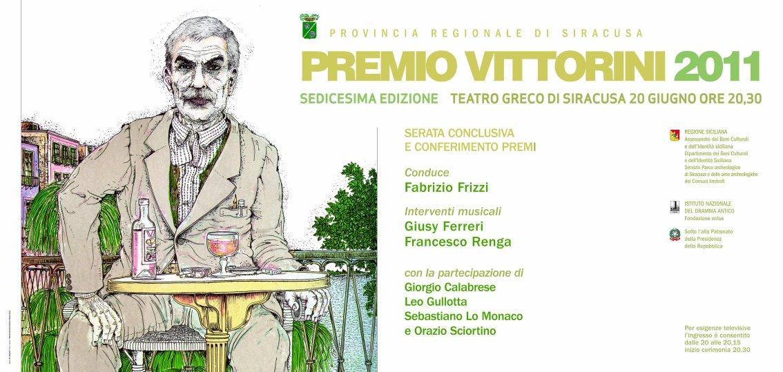 PREMIATI I VINCITORI DELLA XVI EDIZIONE DEL PREMIO VITTORINI