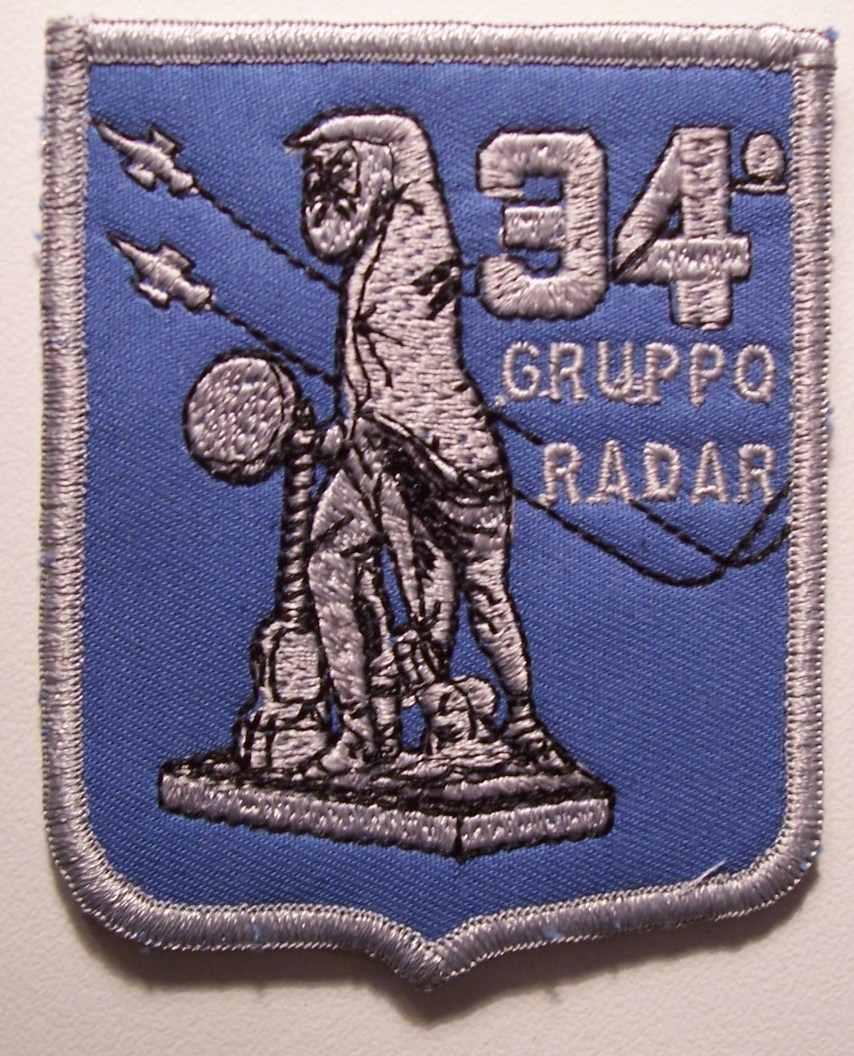 34° GRUPPO RADAR, 50 ANNI DI ATTIVITA'
