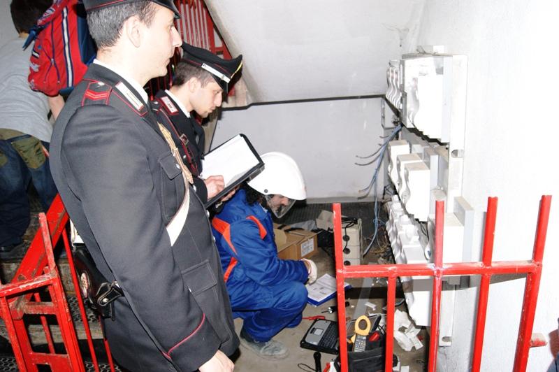 RUBANO ENERGIA ELETTRICA-UN ARRESTO