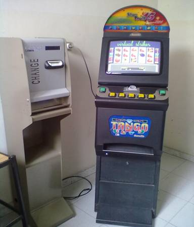 GDF SEQUESTRA 10 SLOT MACHINE