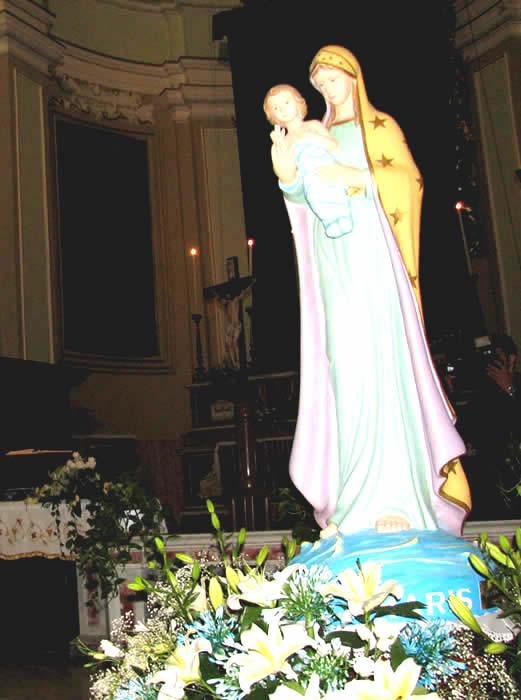 TERMINERANNO DOMANI, I FESTEGGIAMENTI IN ONORE DELLA STELLA MARIS
