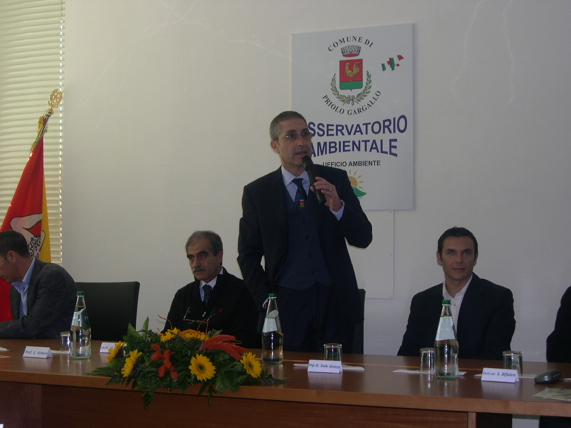 GESTIONE DEI RIFIUTI: PRIMO DEGLI IMPEGNI PREVISTI DALL'OSSERVATORIO AMBIENTALE