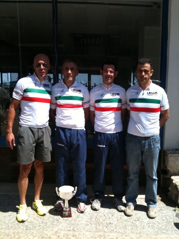 CICLISMO – SIRACUSANO CAMPIONE ITALIANO