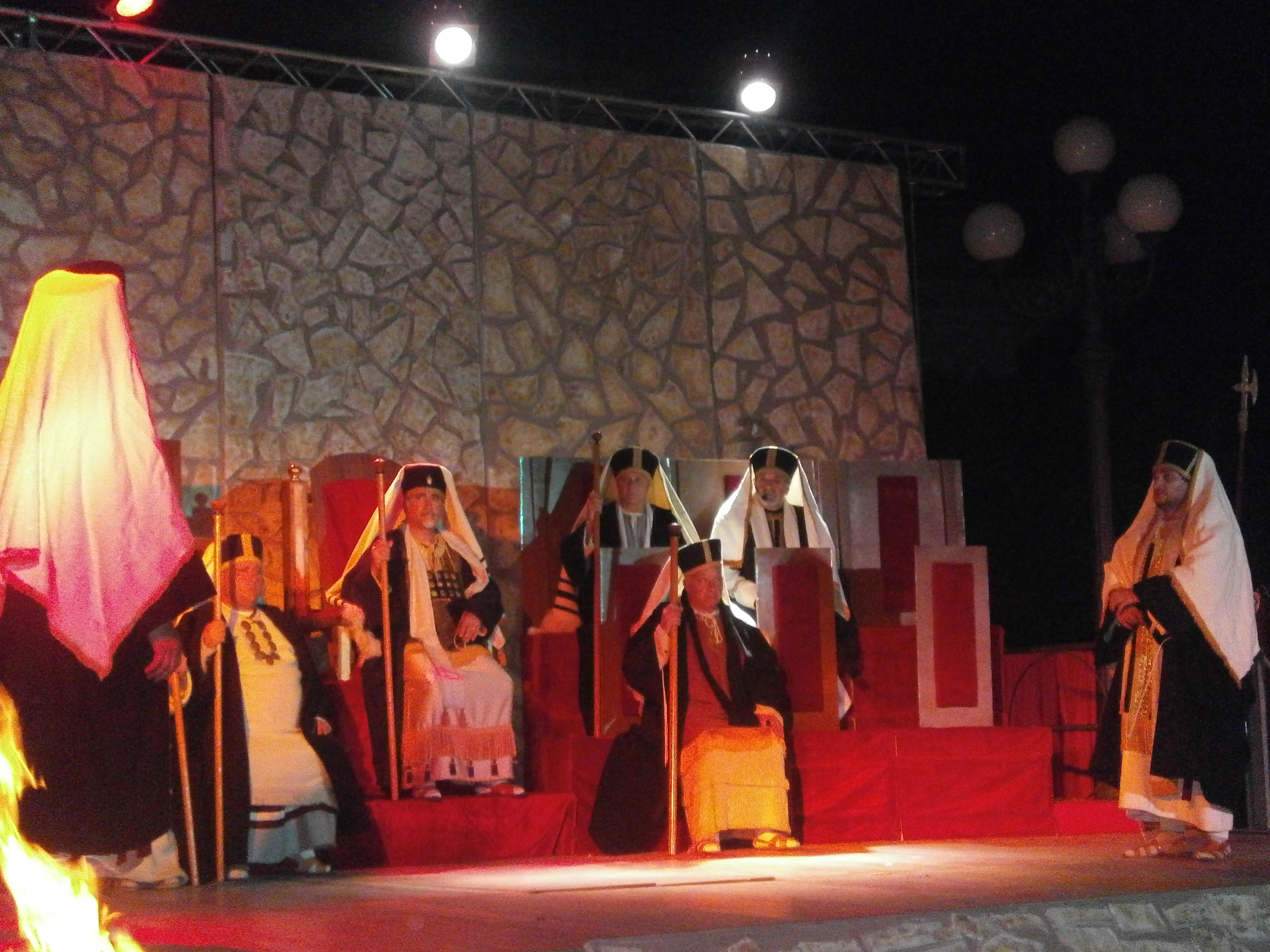 """""""LA PASSIONE 2012"""", UNO SPETTACOLO DI CUORE, PASSIONE E SACRIFICIO"""
