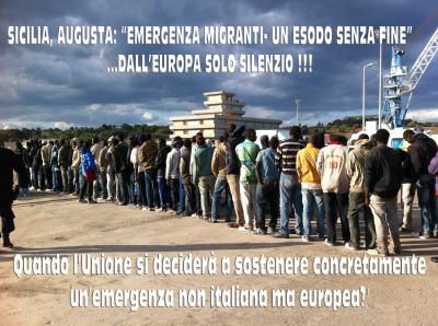 """""""EMERGENZA MIGRANTI- UN ESODO SENZA FINE"""" – DALL'EUROPA SOLO SILENZIO –"""