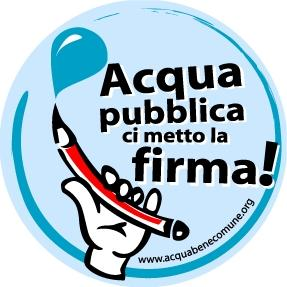 1500 FIRME PER L'ACQUA PUBBLICA