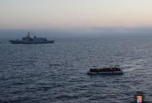 "Augusta| Quasi 800 migranti soccorsi dalle navi impegnate in ""Mare Sicuro"""