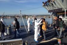 Augusta| Continuano gli sbarchi di migranti al porto commerciale. Operati due arresti