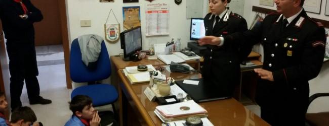 Siracusa  GLI SCOUT INCONTRANO I CARABINIERI