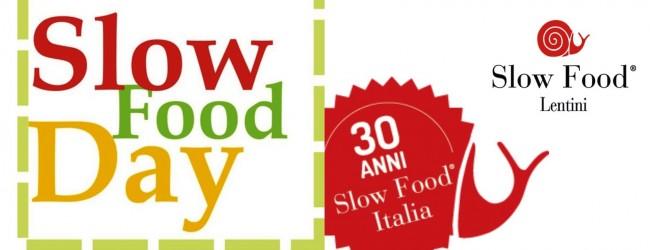 Lentini| Slow Food Day contro l'omologazione alimentare
