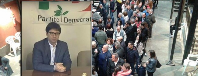 Lentini  Primarie centrosinistra, Lo Giudice (Pd): «Importante momento di partecipazione democratica»