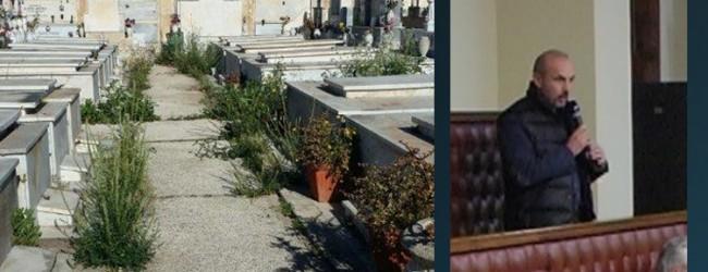 Augusta  Cimitero, Aviello denuncia lo stato di abbandono
