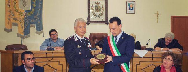 Solarino  Attestazioni di merito ai carabinieri
