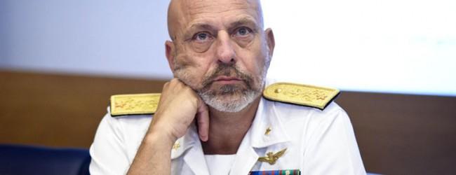 """Siracusa  L'ammiraglio De Giorgi: """"Sono sorpreso"""""""