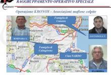 Catania| Operazione Kronos del Ros contro le cosche