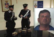 Augusta| Arrestato pluripregiudicato trovato in possesso di 6 chili di hashish