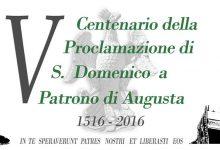 Augusta| Un logo per il V Centenario della proclamazione di San Domenico a Patrono di Augusta