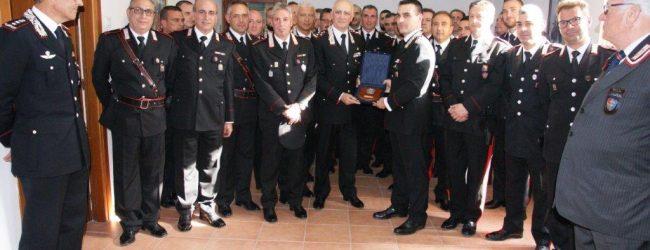 Augusta| Il comandante generale dei carabinieri generale Tullio Del Sette in visita alla compagnia di Augusta