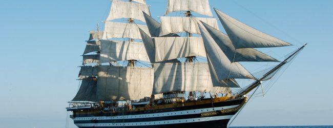 Trapani  Nave Vespucci torna a solcare i mari. Sosta a Trapani dal 5 al 7 giugno