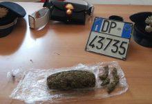 Lentini| Marijuana in camera da letto: arrestato