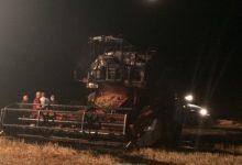 Lentini| Attentato incendiario: distrutte due mietitrebbiatrici