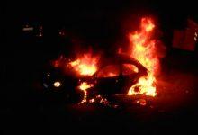 Pachino  Due macchine in fiamme