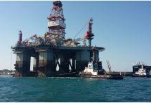 Augusta| Piattaforma petrolifera ormeggiata al porto