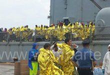 Augusta| Sbarcati 729 migranti al porto commerciale