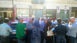 protesta lavoratori bonifica 2