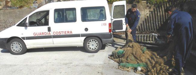Augusta| Rete da posta per la pesca, di circa 400 metri sequestrata dalla Guardia Costiera