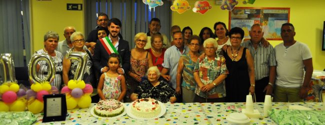 Lentini  Alfia Sgroi spegne 107 candeline