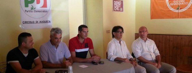 Augusta  Conferenza stampa congiunta questa mattina dei consiglieri di opposizione