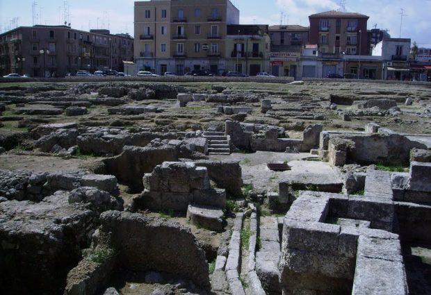 Siracusa| Sequestrata area archeologica di Piazza della Vittoria
