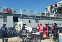Augusta| Sbarco assistito 602 migranti giunti questa mattina al porto commerciale