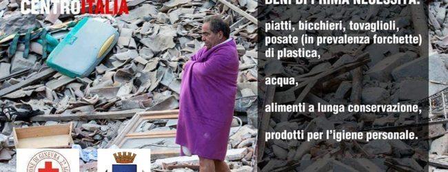 Lentini| Terremoto Centro Italia: Lentini corre in aiuto delle popolazioni