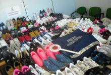 Siracusa| Fiera di piazza Sgarlata, sequestrate 150 paia di scarpe contraffatte