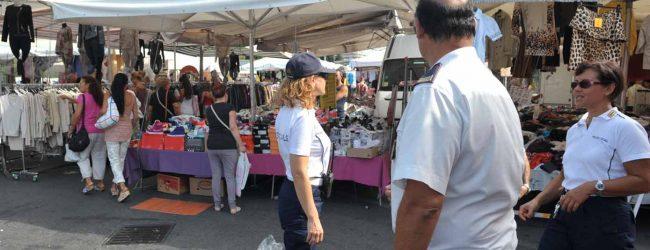 Augusta| La Polizia Municipale ferma un presunto borseggiatore alla fiera del giovedì