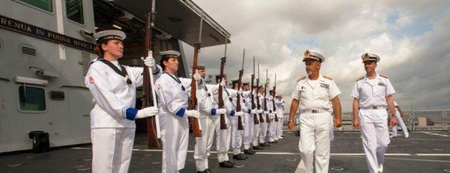 Augusta| Avvicendamento al comando dell'operazione Mare Sicuro