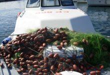Augusta| La Guardia costiera sequestra 200 metri di reti da pesca nel porto