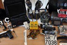 Melilli| Armi, munizioni e materiale rubato in un appartamento di Villasmundo