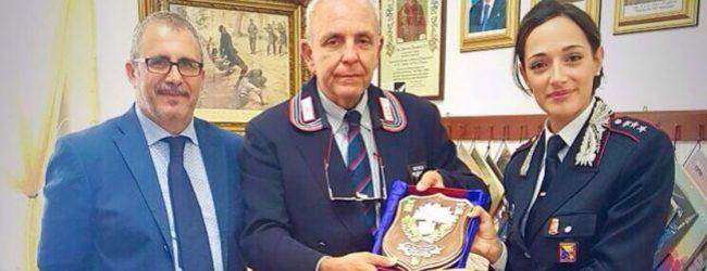 Francofonte| Il capitano Capuano in visita alla sezione dell'Associazione nazionale carabinieri