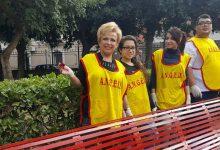 Lentini| Una panchina rossa a villa Gorgia contro il femminicidio