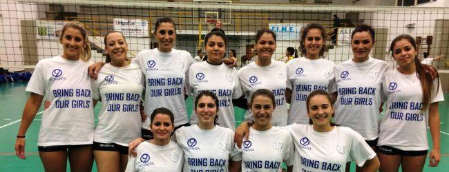 Augusta| Bring back our girls: la Pallavolo Augusta lancia un messaggio umanitario