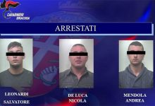 Melilli| Assalto Postmat, presi tre giovani