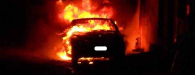 Lentini| Auto in fiamme nel quartiere Soprafiera