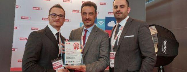 Solarino| Comune premiato allo SMAU di Napoli