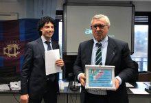 """Augusta  Premio """"maglia azzurra"""" per il canottiere augustano Sebastiano Galoforo"""