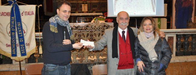 Lentini| L'Archeoclub finanzia il restauro del sagrato dell'ex cattedrale